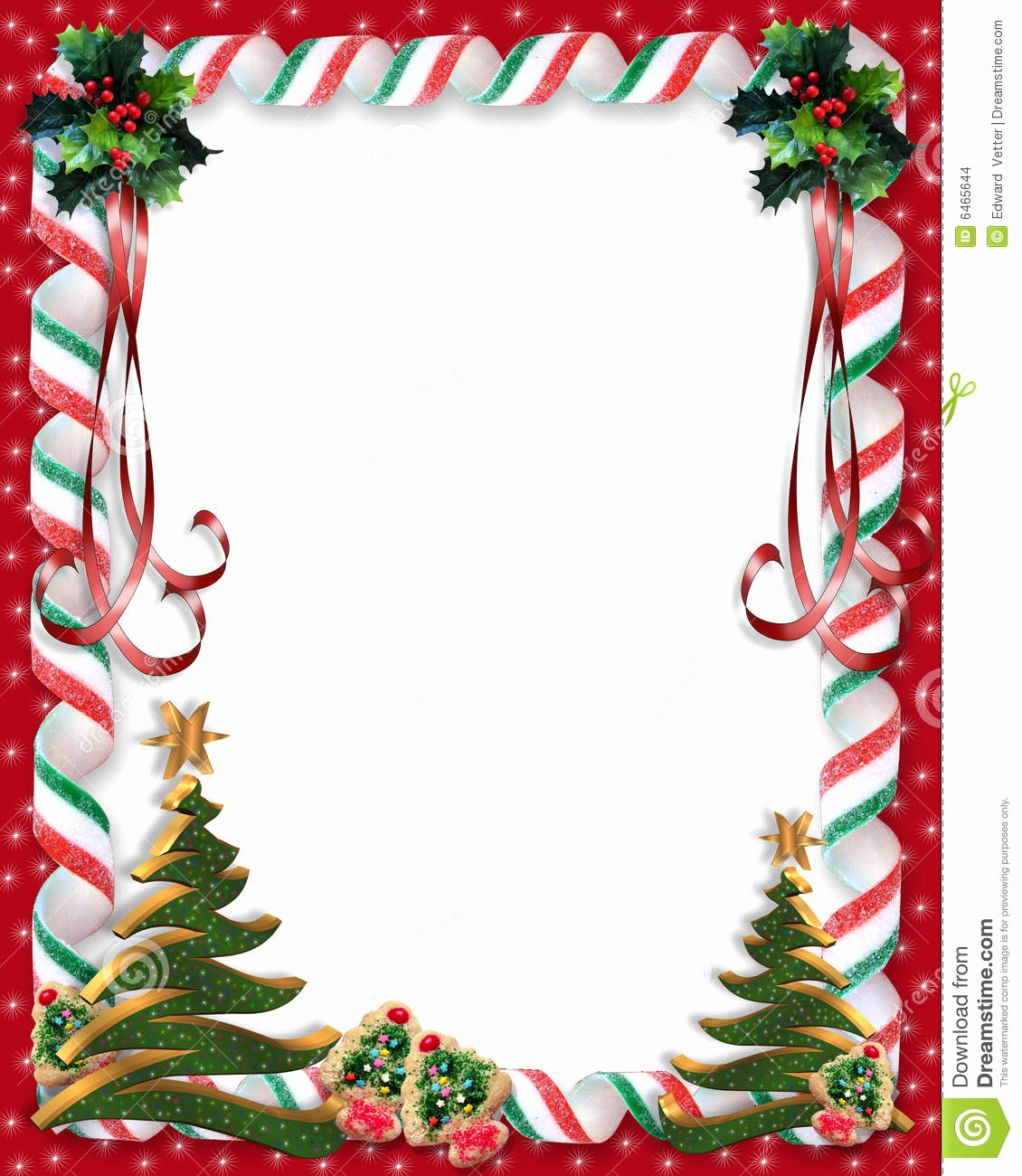 Free Christmas Borders for Letters Best Of Border for Christmas Letter – Festival Collections