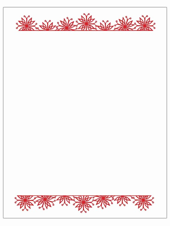 Free Christmas Borders for Letters Elegant Christmas Letter Heading Clipart Clipart Collection