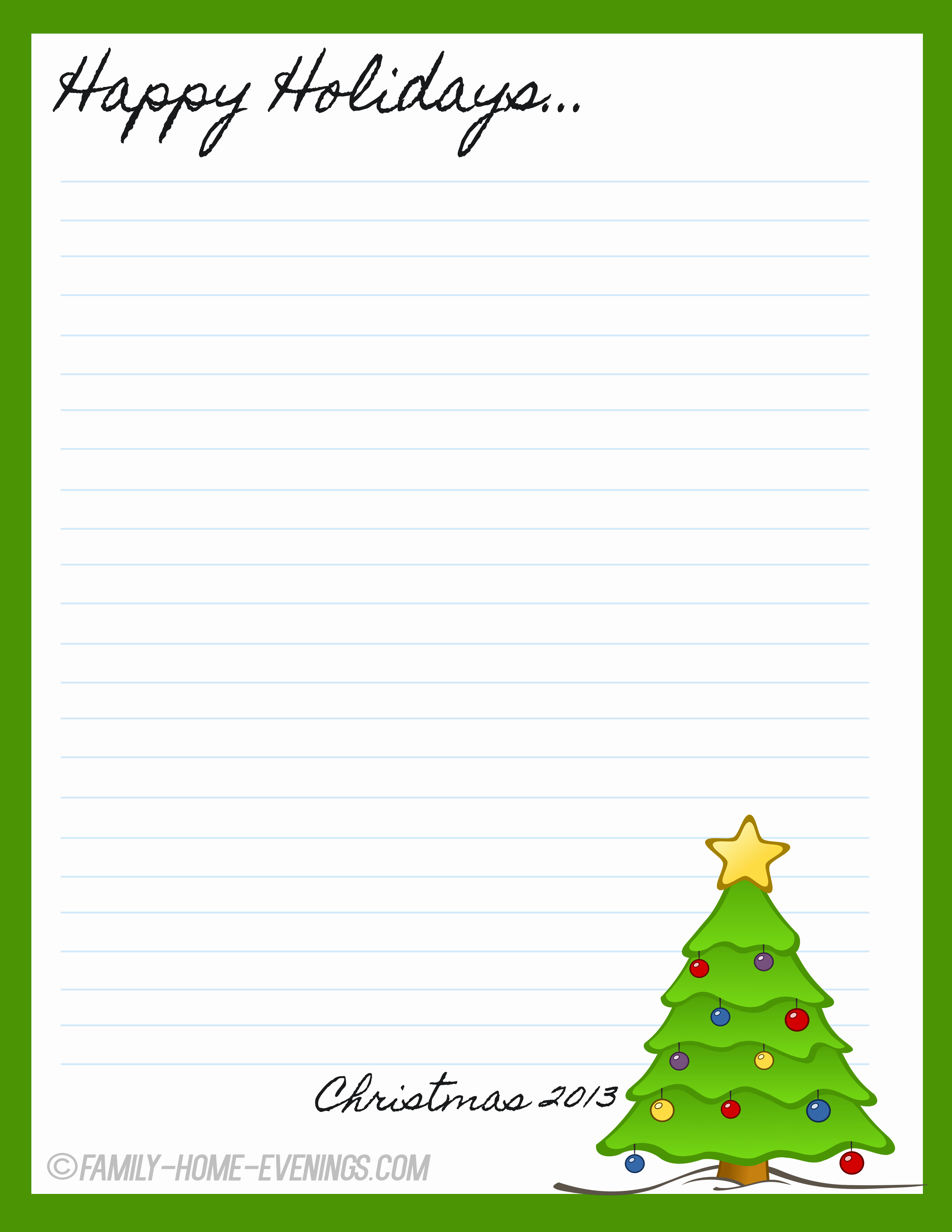 Free Christmas Borders for Letters Inspirational Downloadable Page Borders for Microsoft Word