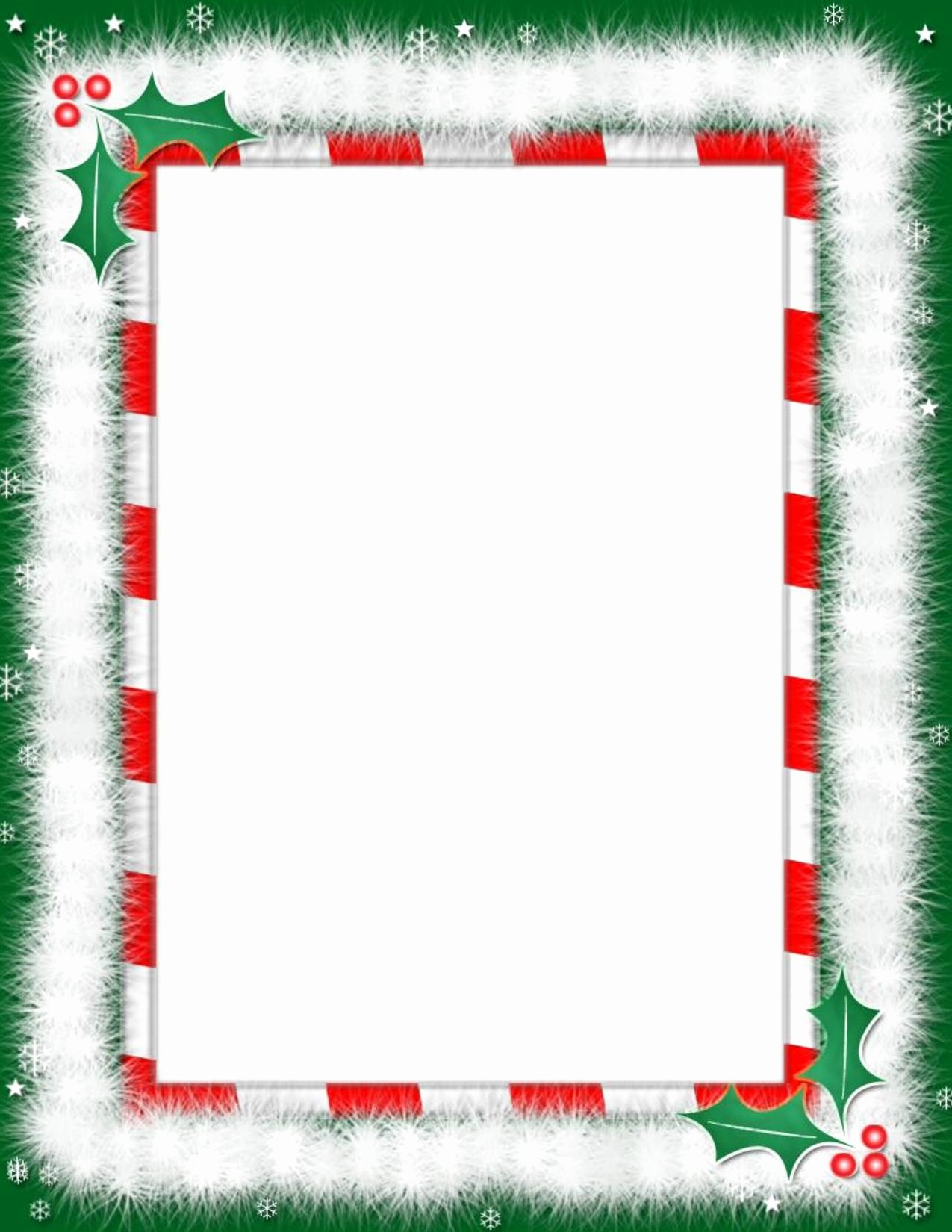 Free Christmas Borders for Letters New Christmas Borders for Letters to Santa – Festival Collections