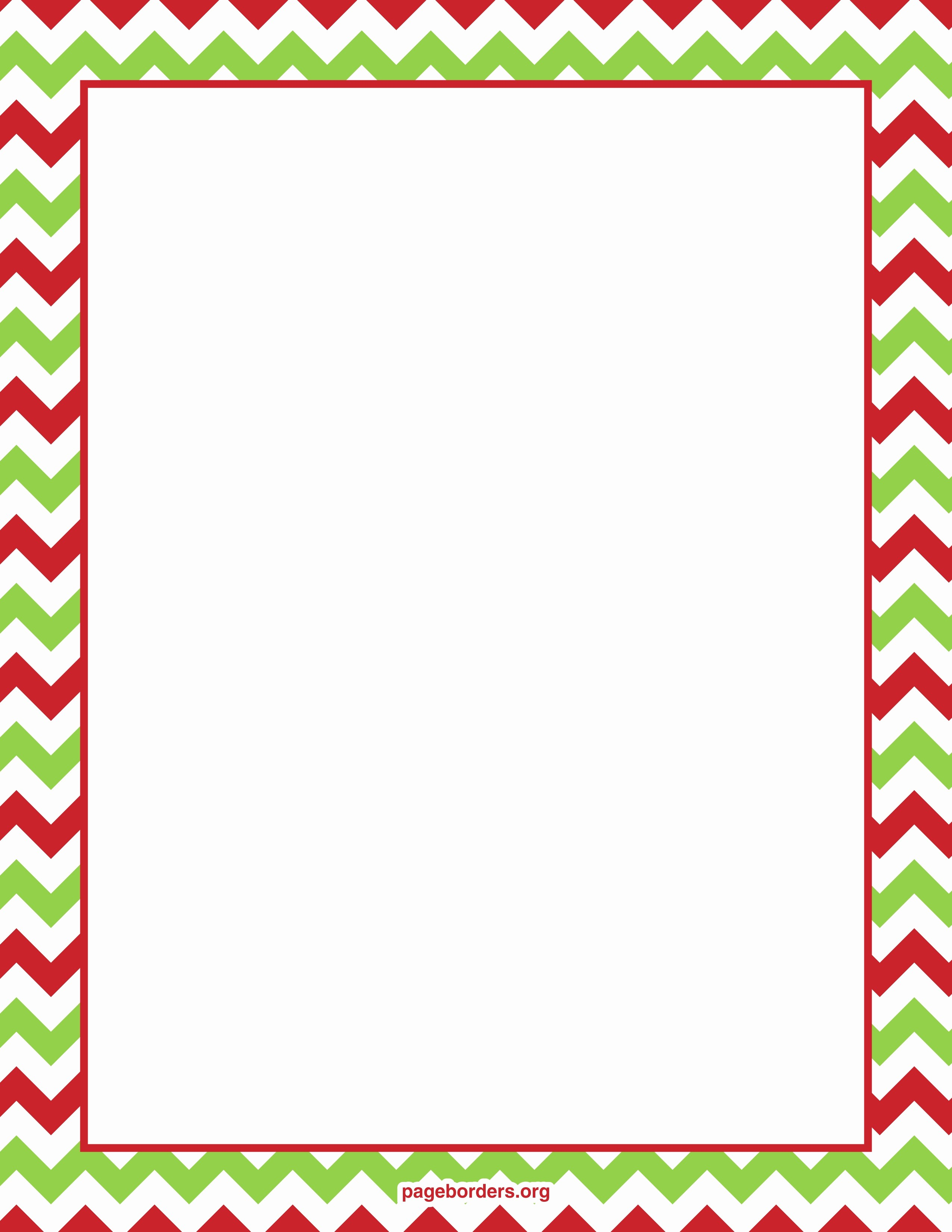 Free Christmas Borders for Letters Unique 7 Best Of Printable Christmas Borders and