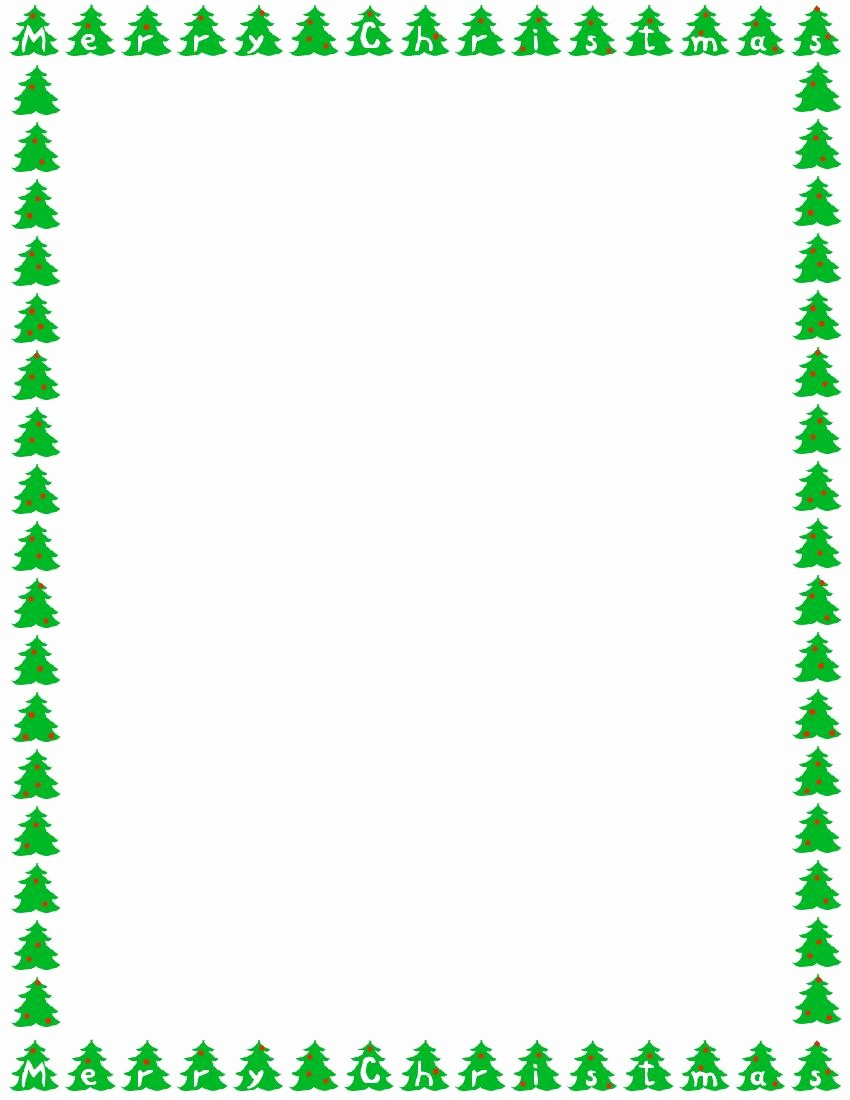 Free Christmas Borders for Letters Unique Christmas Border for Free Download