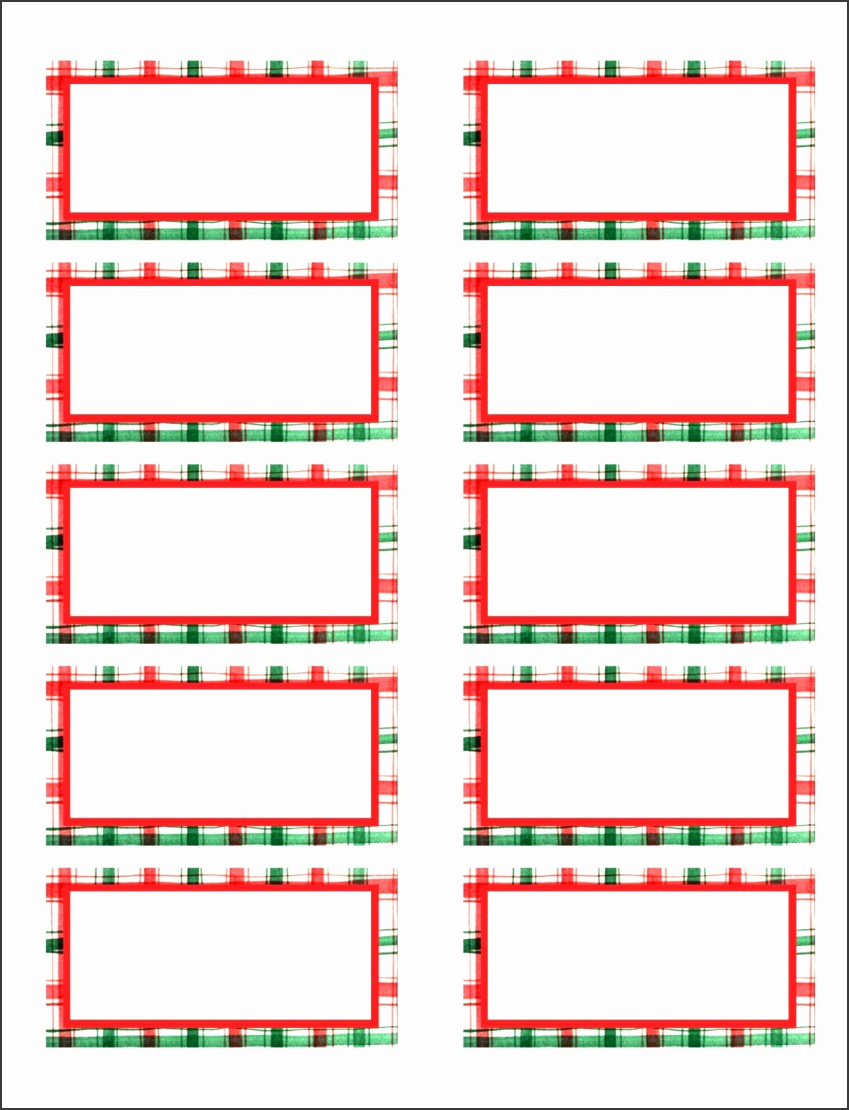 Free Christmas Return Address Labels Beautiful 8 Free Christmas Address Labels Templates