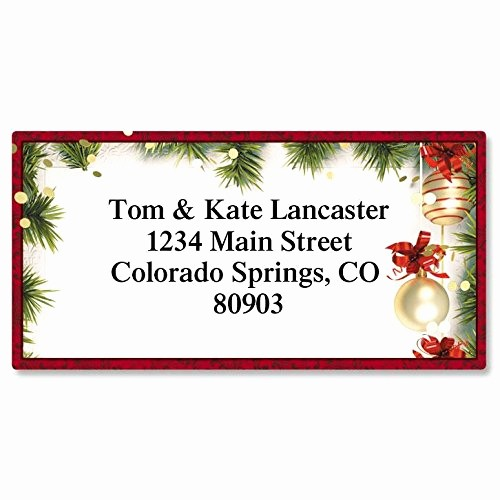 Free Christmas Return Address Labels Beautiful Avery Christmas Labels Amazon