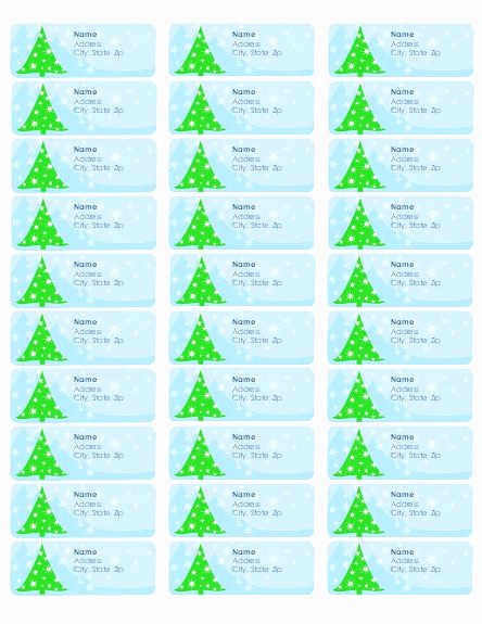 Free Christmas Return Address Labels Best Of Best 25 Address Label Template Ideas On Pinterest