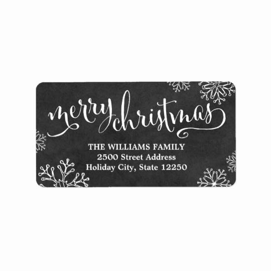 Free Christmas Return Address Labels Luxury Return Address Labels