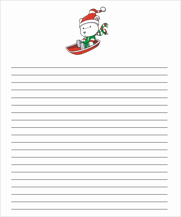 Free Christmas Stationery to Print Awesome 13 Christmas Paper Templates Free Word Pdf Jpeg