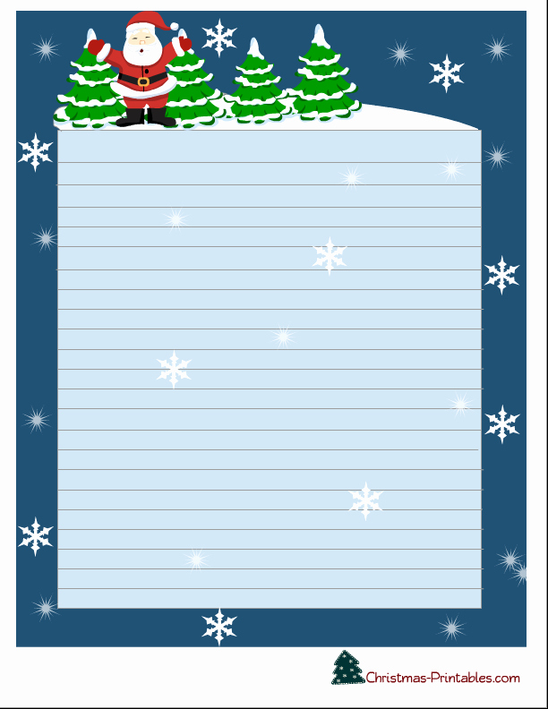 Free Christmas Stationery to Print Inspirational Free Printable Christmas Stationery