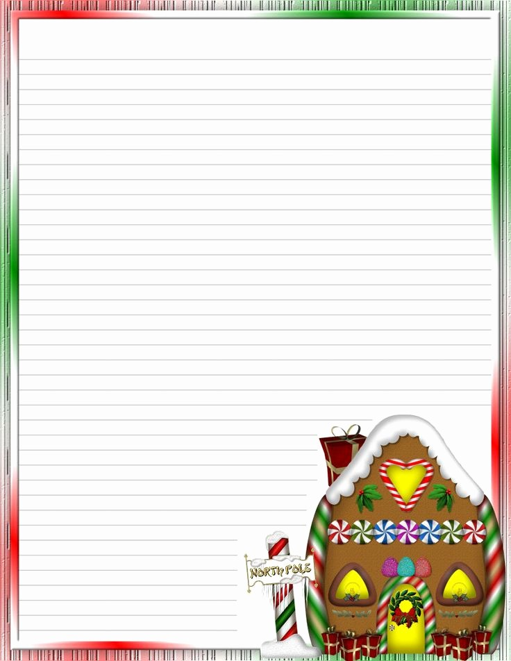 Free Christmas Stationery to Print Lovely Free Religious Christmas Letter Templates – Fun for