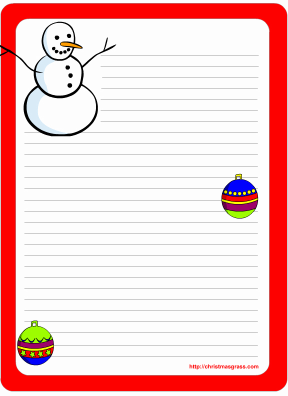 Free Christmas Stationery to Print Unique Free Printable Christmas and Holiday Stationery