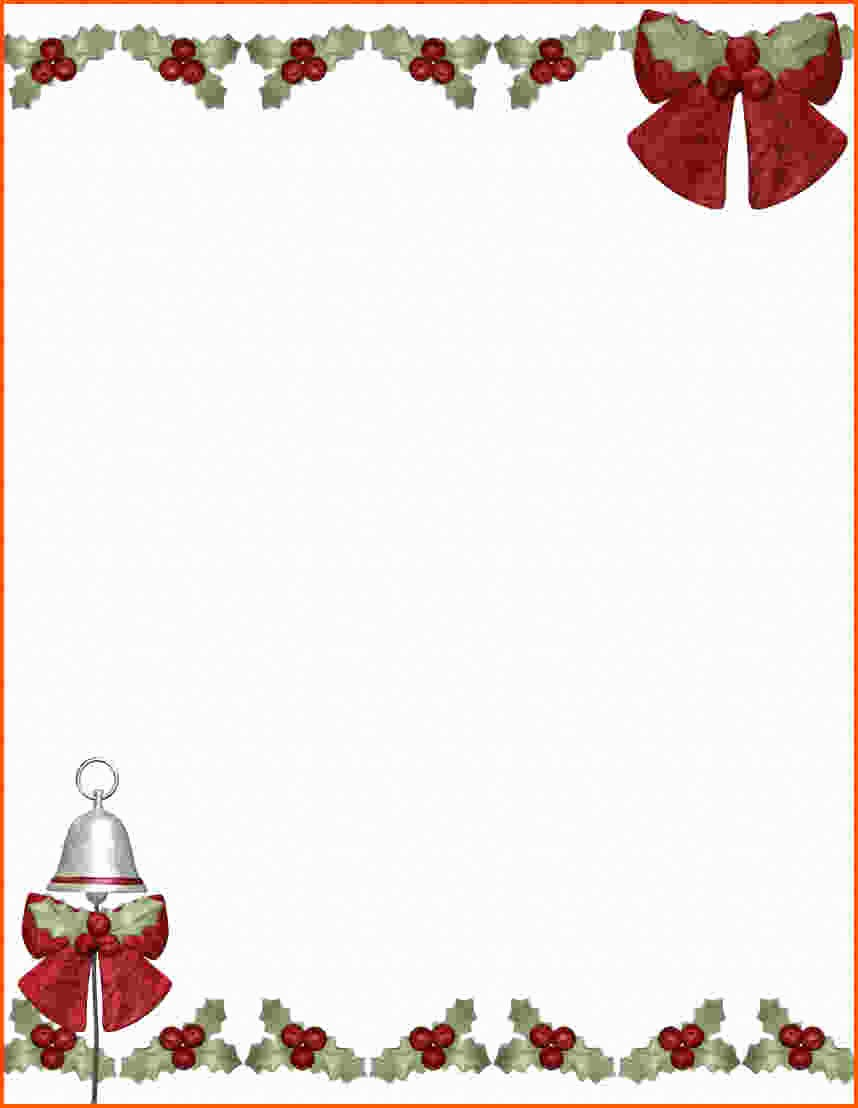 Free Christmas Template for Word Beautiful Microsoft Word Free Christmas Templates – Festival Collections