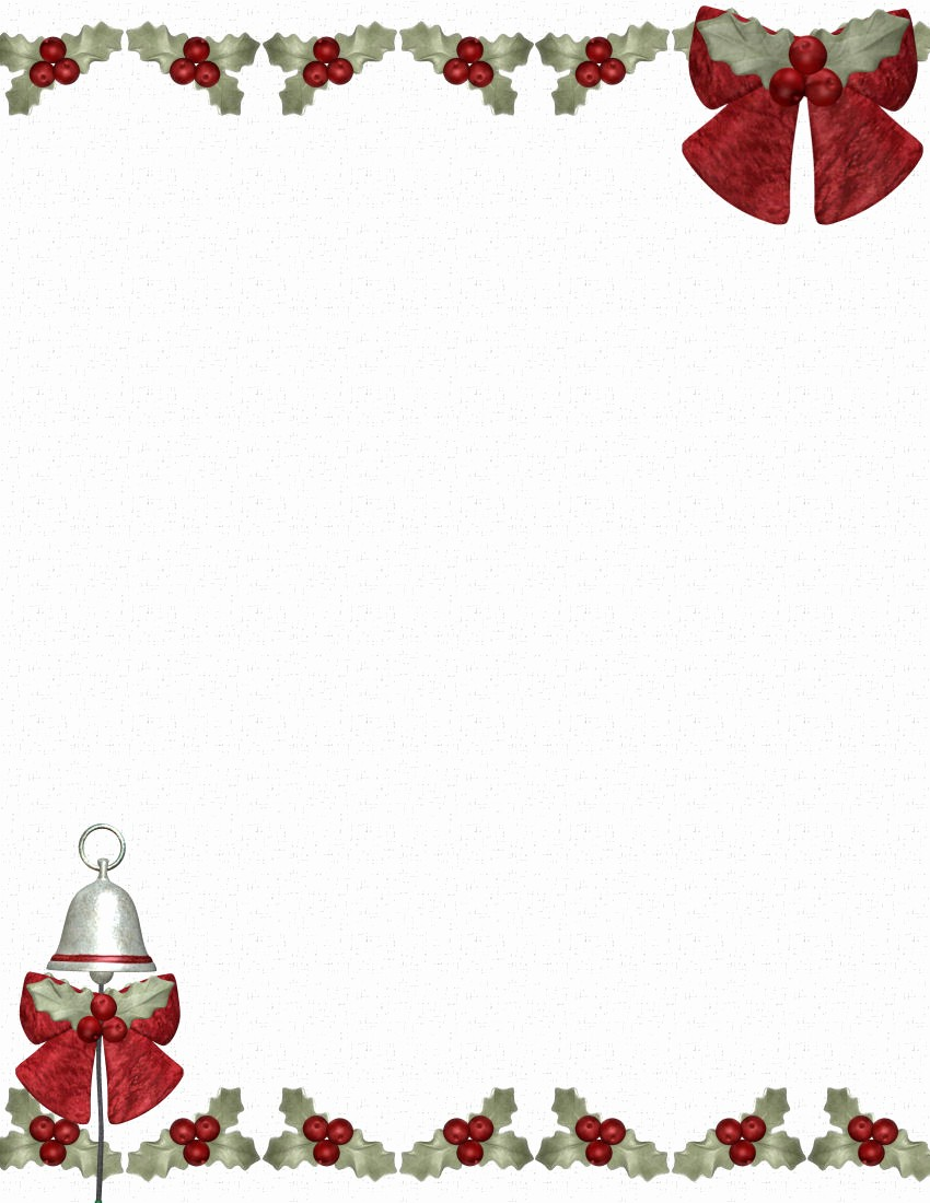 Free Christmas Template for Word Elegant Christmas Stationery Templates Microsoft Word Freemixfs
