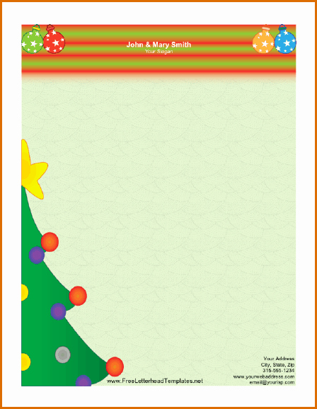 Free Christmas Template for Word Fresh 12 Free Christmas Templates for Word