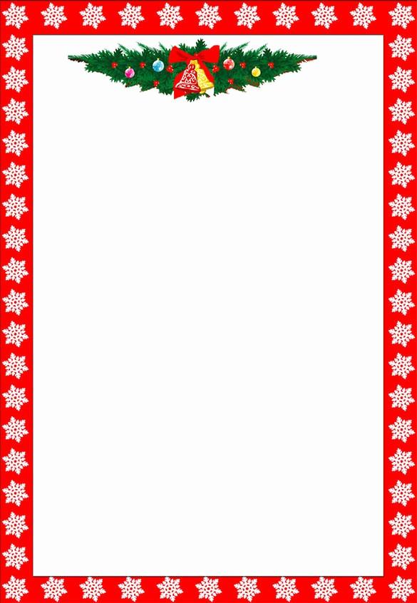 Free Christmas Template for Word Fresh 13 Christmas Paper Templates Free Word Pdf Jpeg