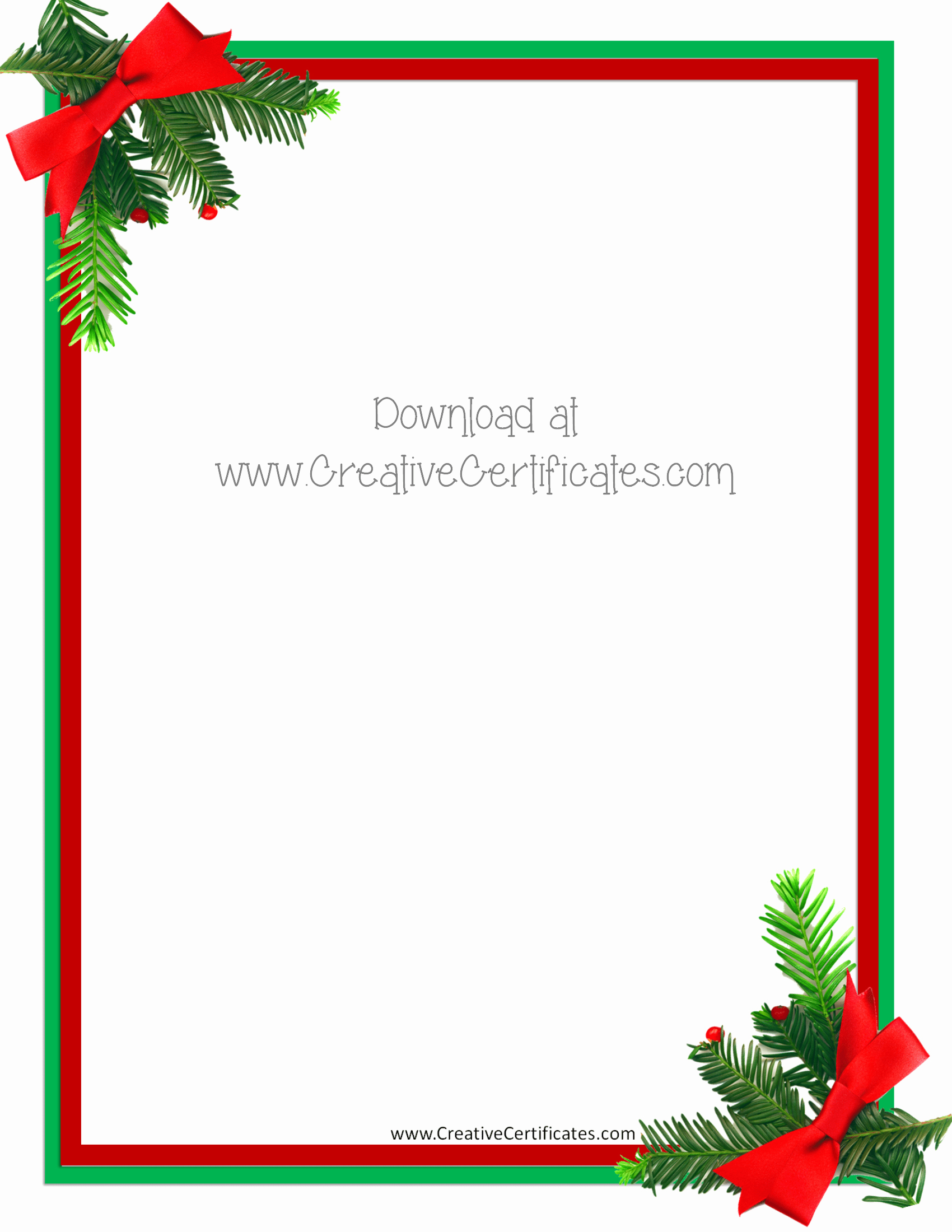 Free Christmas Template for Word Lovely Free Christmas Border Templates Customize Line then