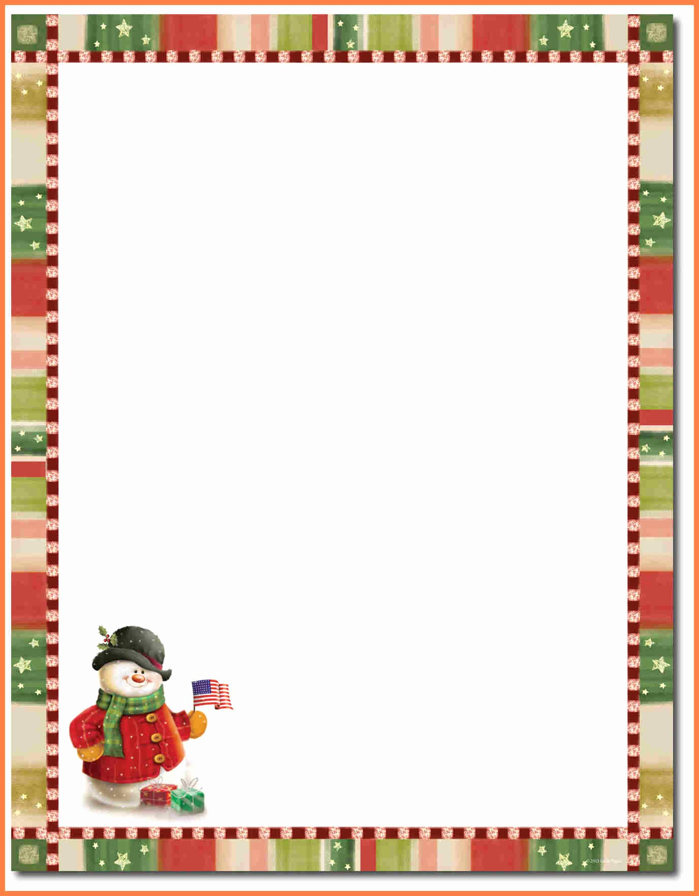 Free Christmas Template for Word Lovely Letter Best Christmas Letterhead Template Christmas