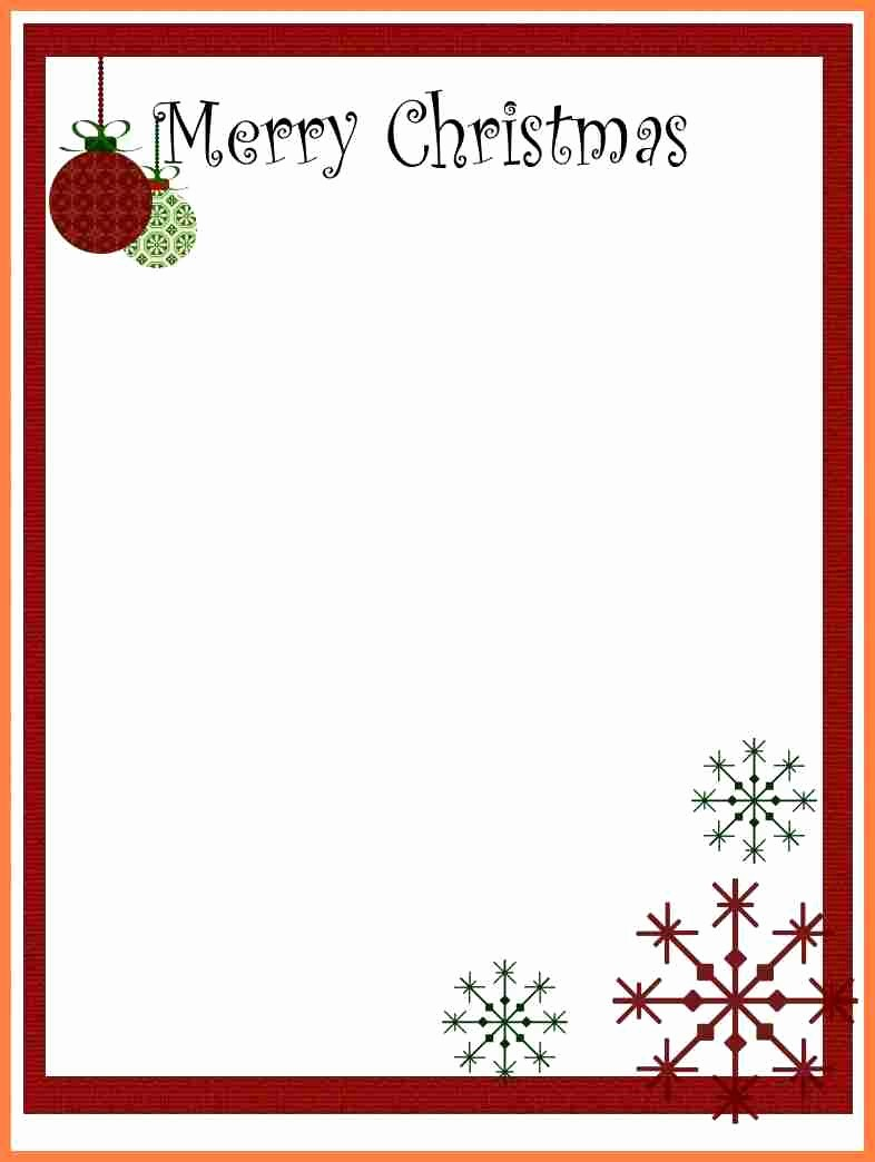 Free Christmas Template for Word Luxury 7 Christmas Letterhead Templates Word