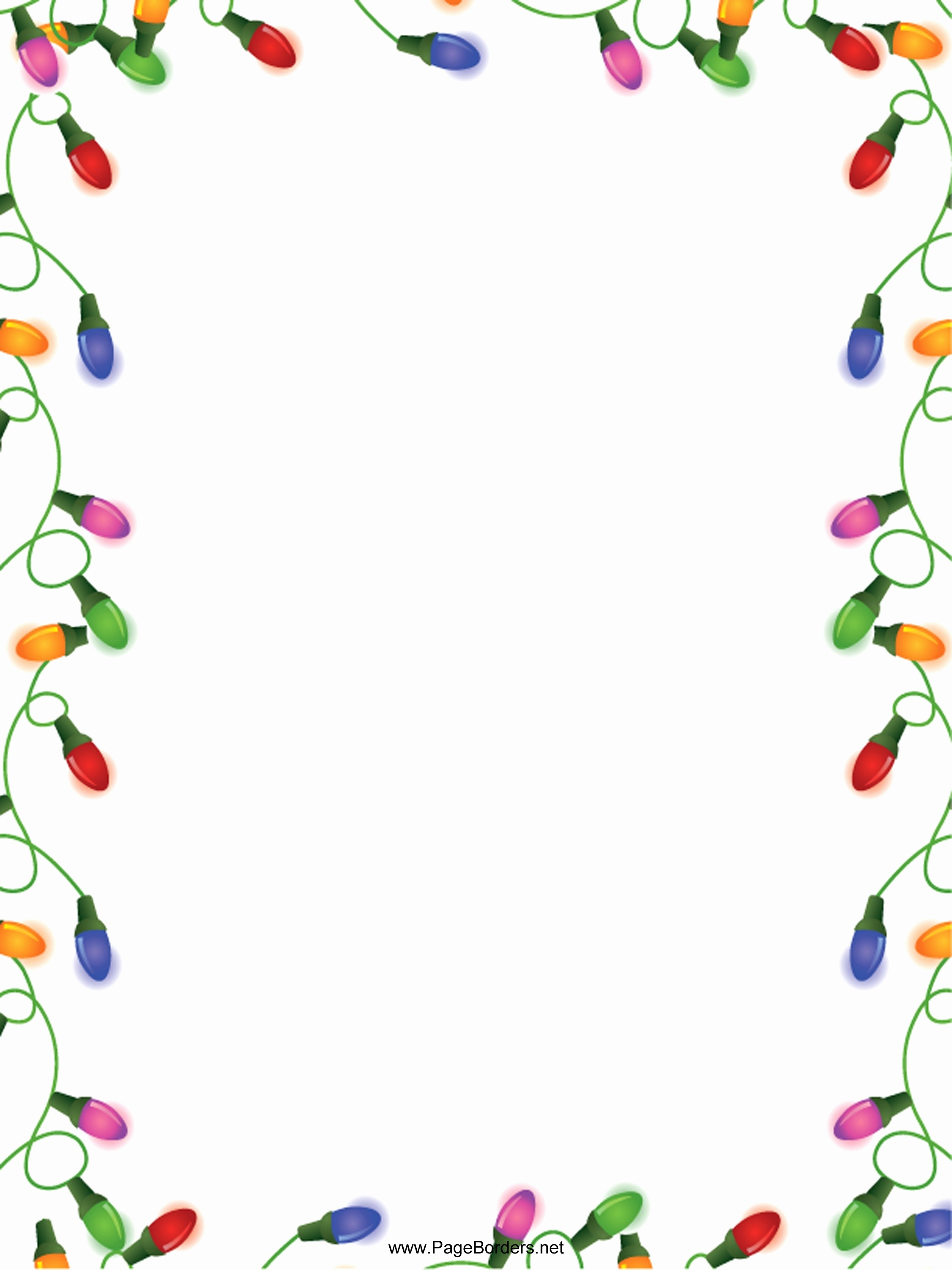 Free Christmas Template for Word Unique Free Holiday Border Templates Microsoft Word