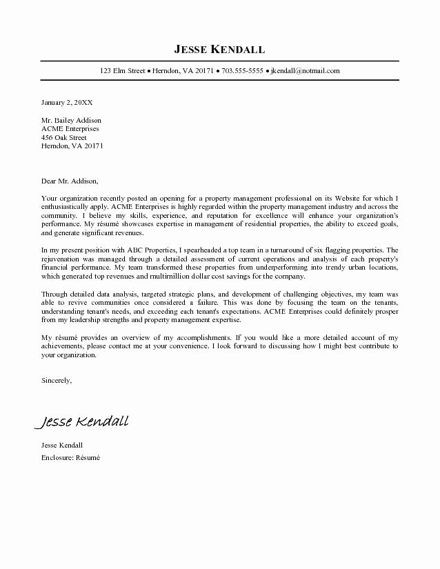 Free Cover Letter for Resume New Free Resume Cover Letters Cover Letters