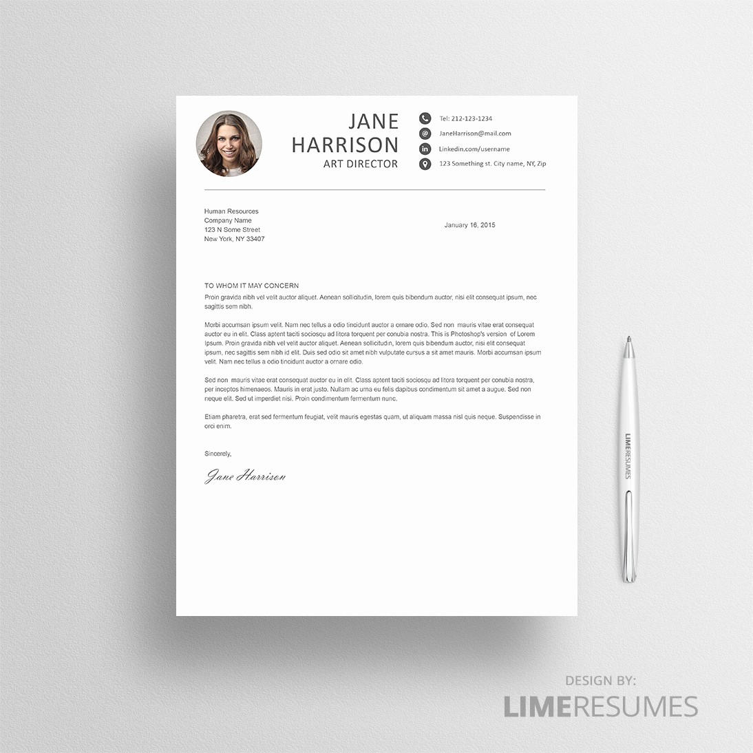 Free Creative Cover Letter Templates Best Of Creative Resume Template for Creatives Limeresumes