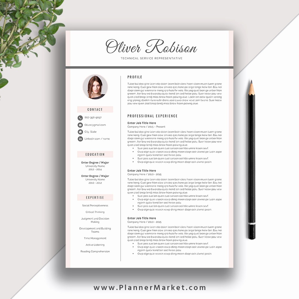 Free Creative Cover Letter Templates Fresh Professional Resume Template Cv Template 3 Page