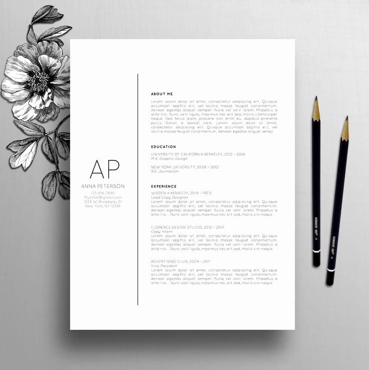 Free Creative Cover Letter Templates Unique 25 Best Cover Letter Design Ideas On Pinterest