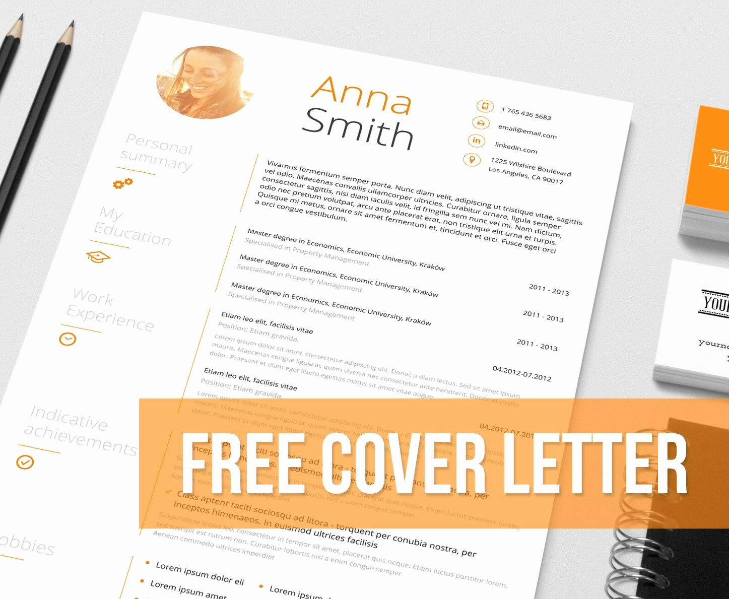Free Creative Cover Letter Templates Unique Resume Template No1 Cover Letter Reference Page