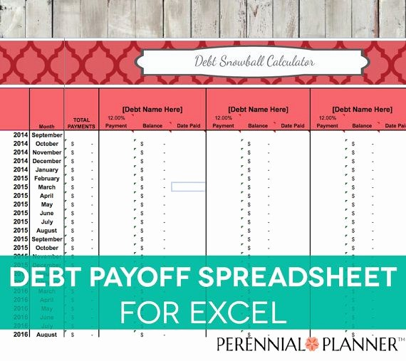 Free Credit Card Tracking Spreadsheet Elegant Debt Payoff Spreadsheet Debt Snowball Excel Credit