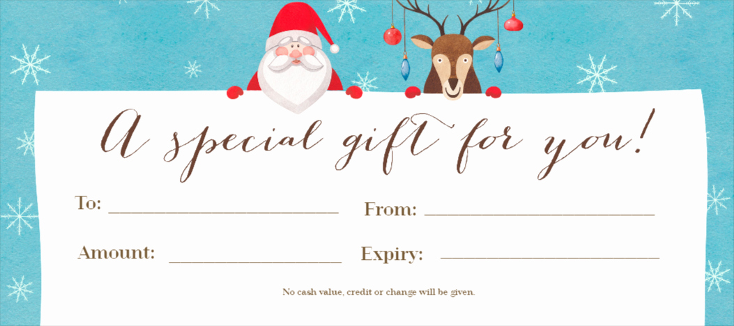 Free Customizable Printable Gift Certificates Beautiful Free Gift Certificates Maker Design Your Gift