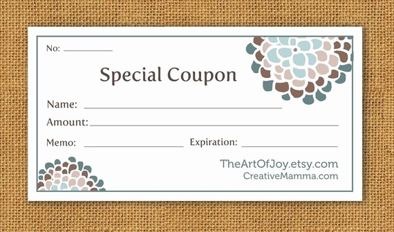 Free Customizable Printable Gift Certificates Beautiful Items Similar to Printable Customizable Gift Certificate