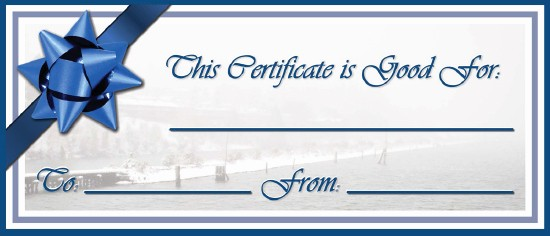 Free Customizable Printable Gift Certificates Beautiful Waste Free Gift Certificates