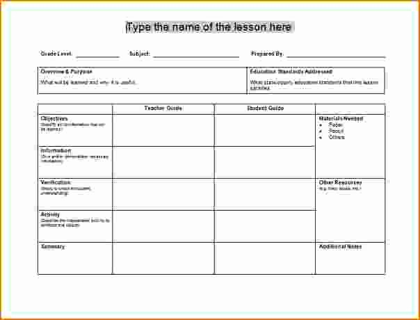 Free Daily Lesson Plan Template Beautiful Lesson Plan Template 60 Free Word Excel Pdf format