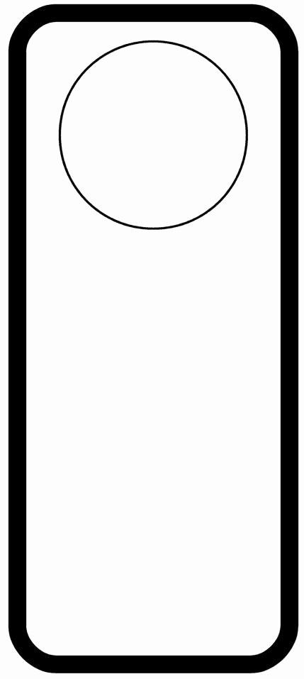 Free Door Hanger Template Word Beautiful Door Hanger Templates