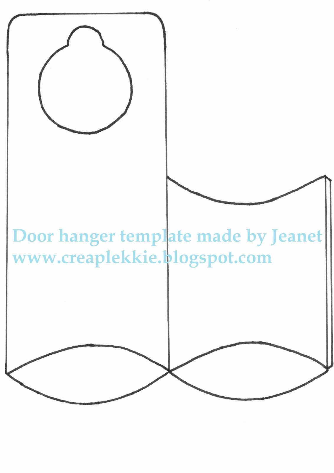 Free Door Hanger Template Word Best Of Door Hanger Template