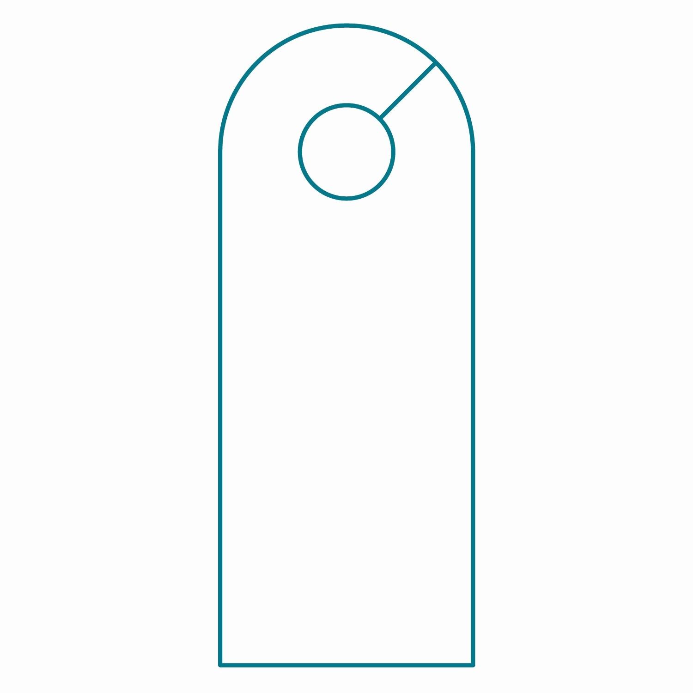 Free Door Hanger Template Word Fresh Door Hanger Template Illustrator Templates Resume