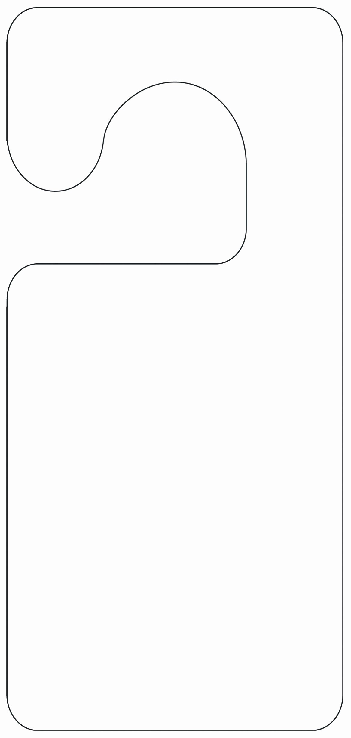 Free Door Hanger Template Word New 5 Blank Door Hanger Template for Word Uawrc