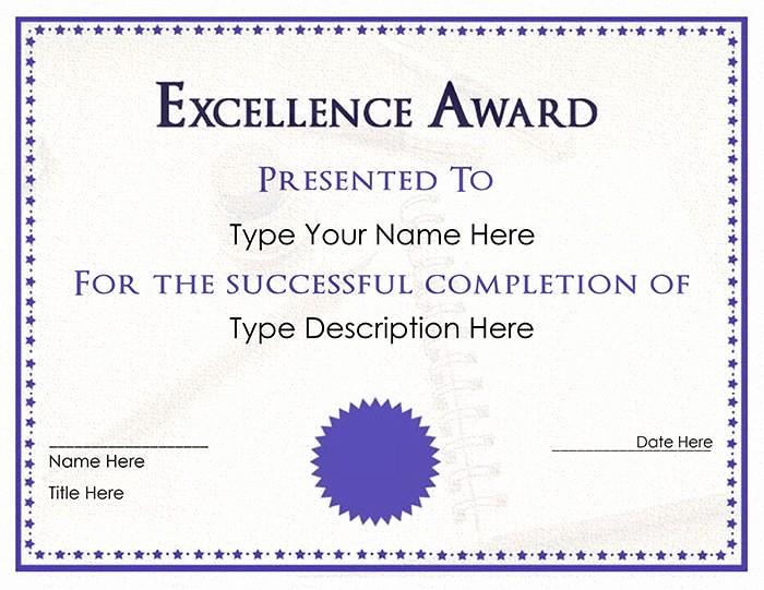 Free Download Award Certificate Templates Beautiful 30 Free Printable Certificate Templates to Download