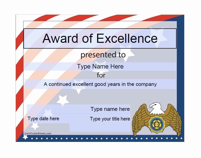 Free Download Award Certificate Templates Best Of 50 Free Amazing Award Certificate Templates Free