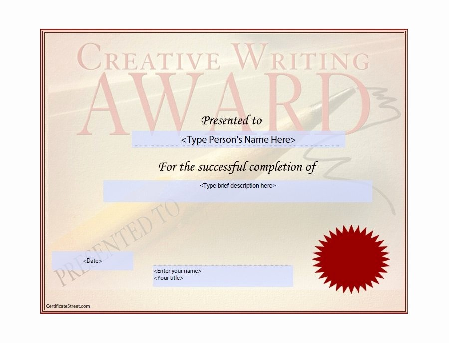 Free Download Award Certificate Templates Elegant 50 Free Amazing Award Certificate Templates Free