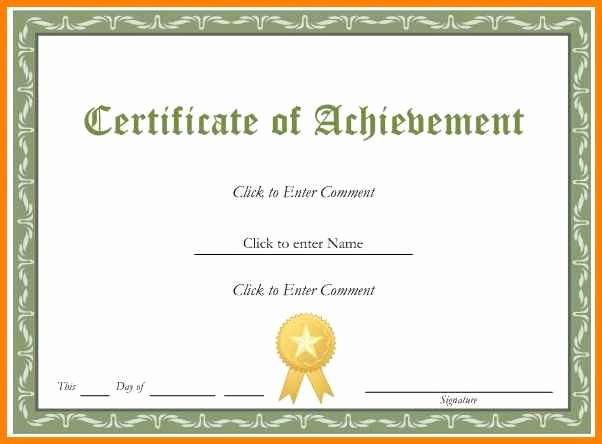 Free Download Award Certificate Templates Fresh 5 Editable Certificates Free
