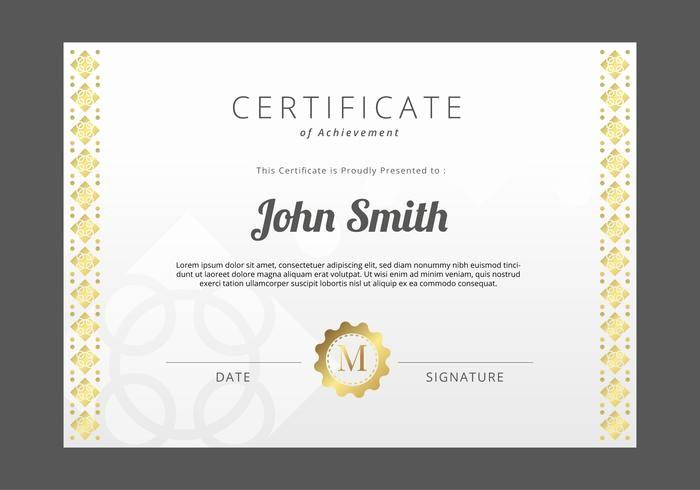 Free Download Award Certificate Templates Unique Free Certificate Template Download Free Vector Art
