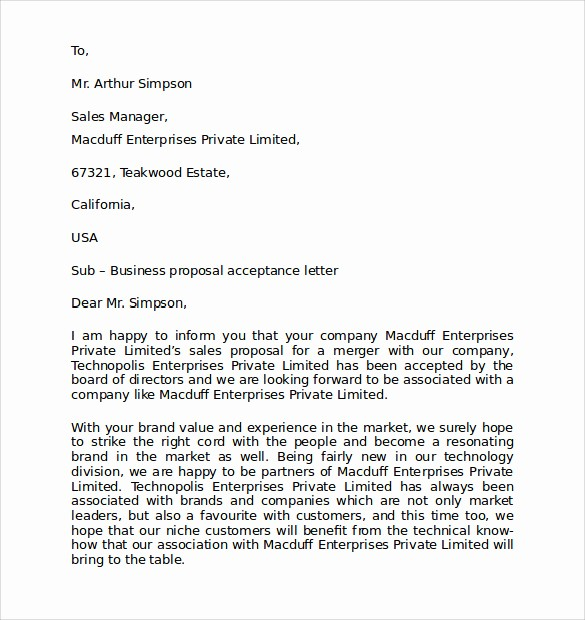 Free Download Business Letter Template Beautiful Personal Business Letter format 7 Download Free