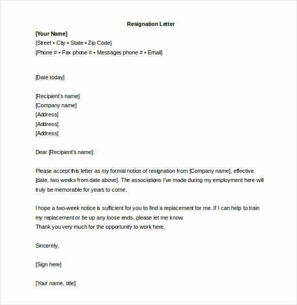 Free Download Business Letter Template Best Of 26 Word Letter Templates Free Download