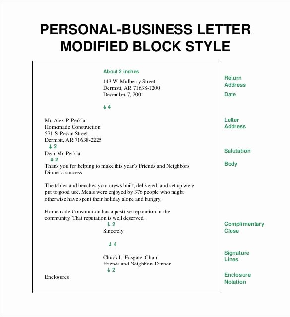 Free Download Business Letter Template Best Of Block Style Business Letter Template Free 8 Printable