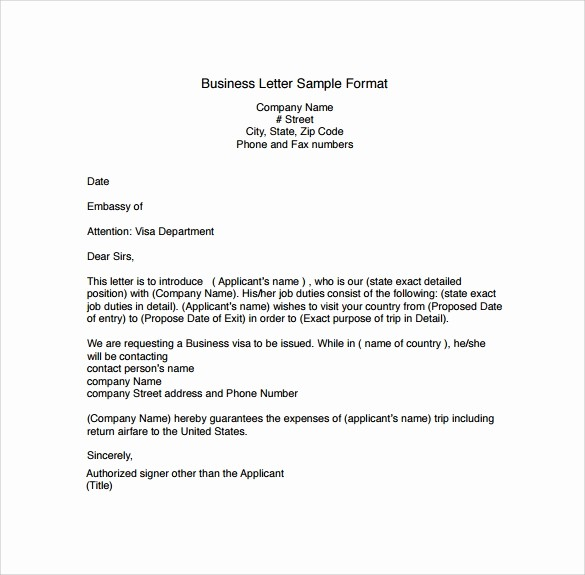Free Download Business Letter Template Elegant Business Letters format 15 Download Free Documents In