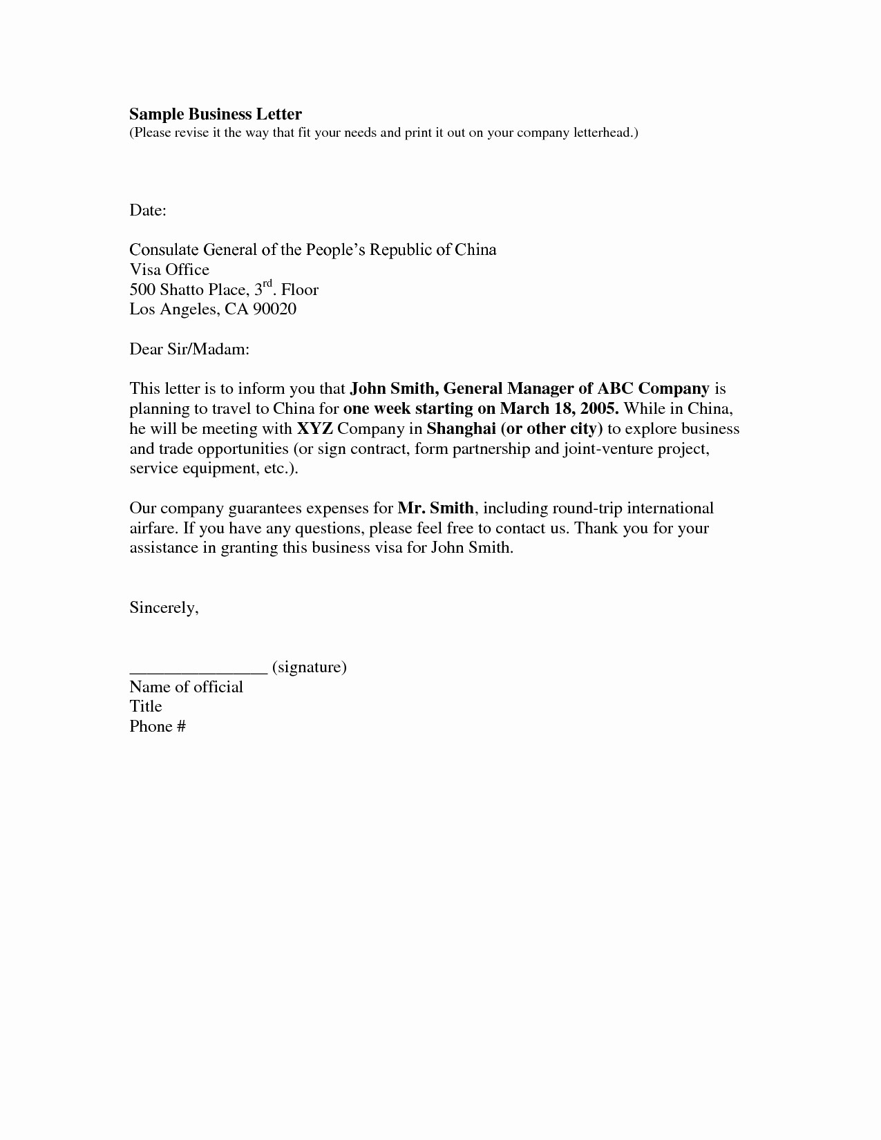 Free Download Business Letter Template Inspirational Amazing as Well as Gorgeous Business Letter Template