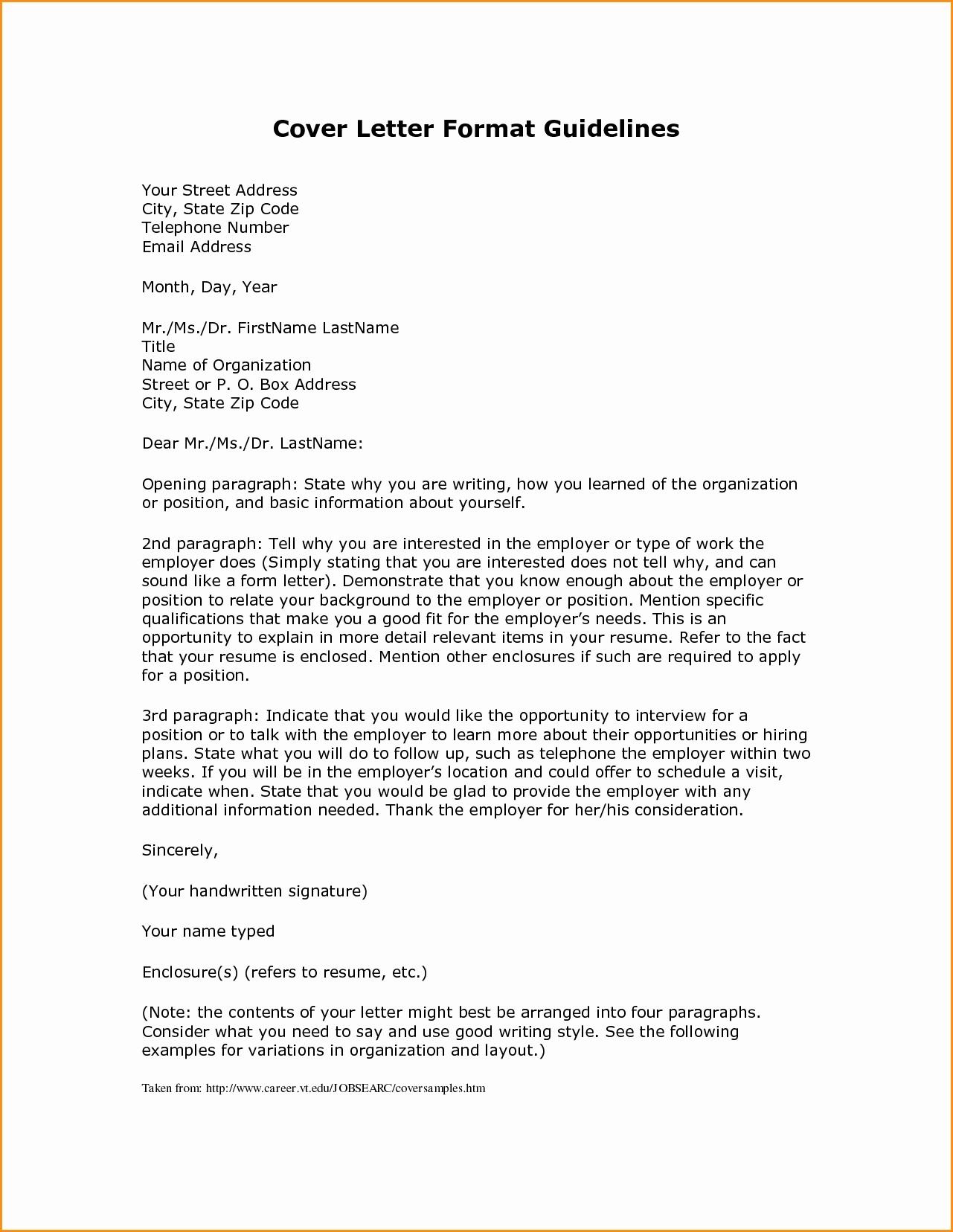 Free Download Business Letter Template Luxury Business Letter Guidelines