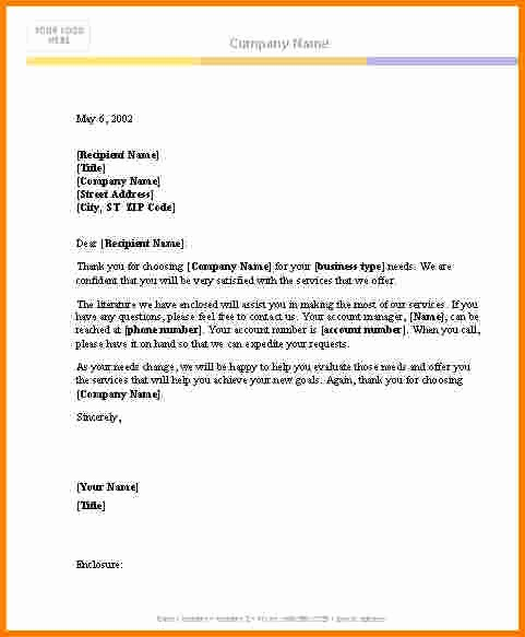 Free Download Business Letter Template New Business Letter Template Word