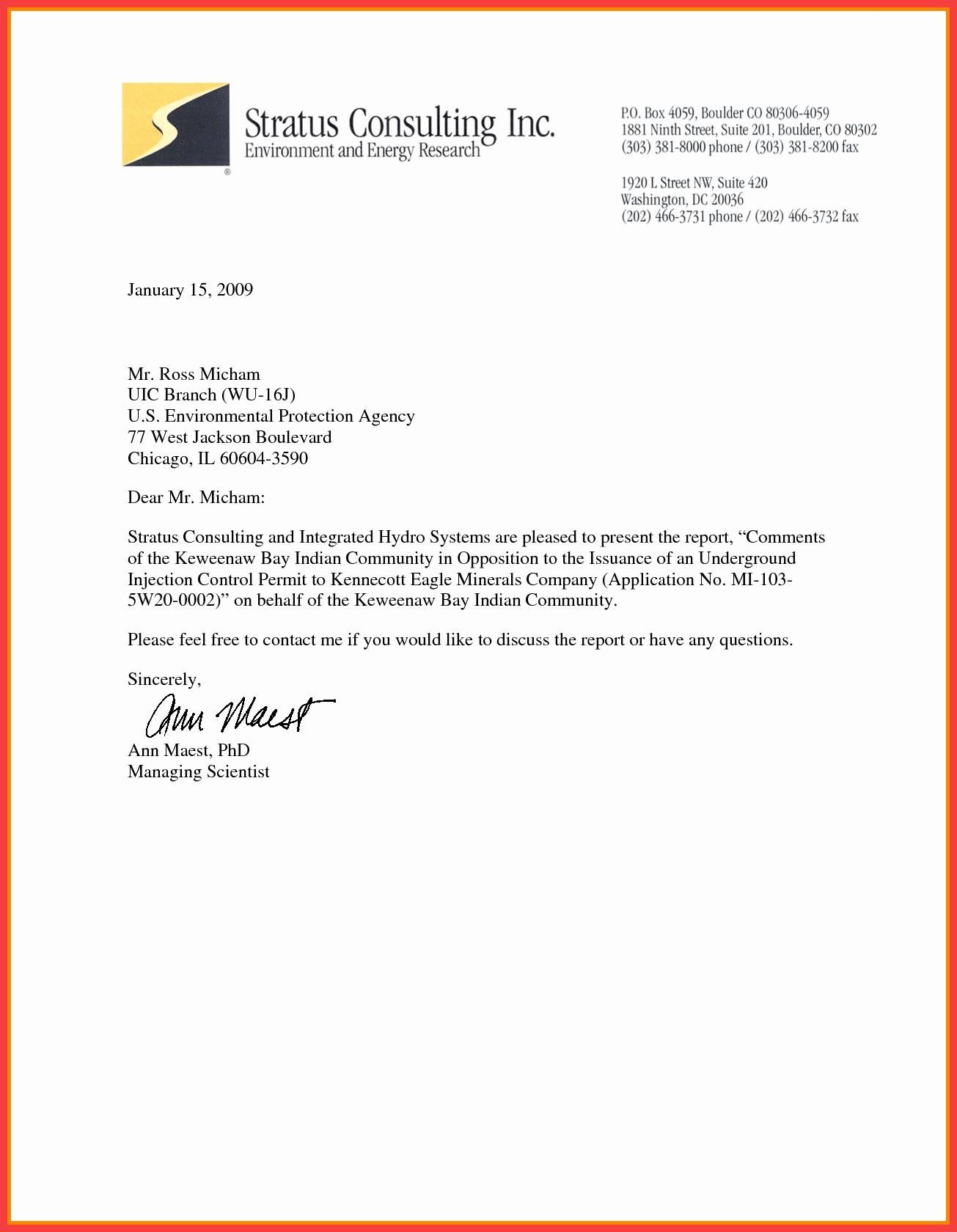 Free Download Business Letter Template Unique Professional Letter Outline