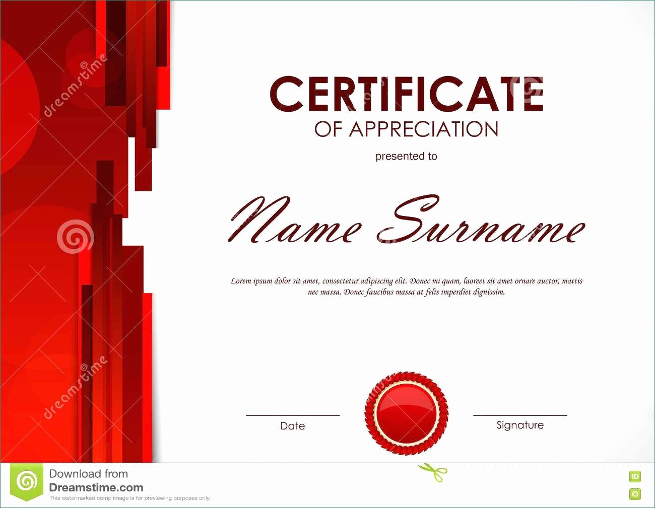 Free Download Certificate Of Appreciation Inspirational Impressive Free Download Certificate Appreciation